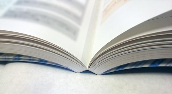 無線綴じ冊子イメージ写真